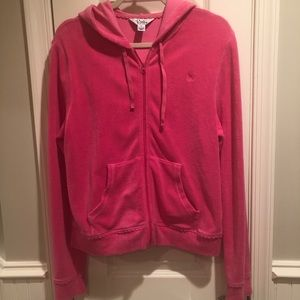 Lilly Pulitzer terry zip up track jacket